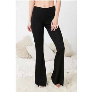 Out from Under Ribbed Flare Pants